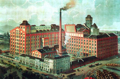 Concordia malom képe a Budapest City oldalról