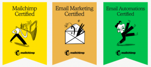 HD marketing MailChimp, Email Marketing & Email Automations Certified